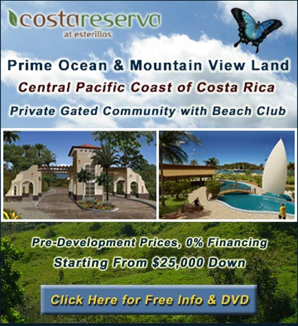 The info on my Costa Rican vacation home!