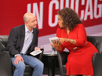 Jeff Bezos, the Kindle, and Oprah